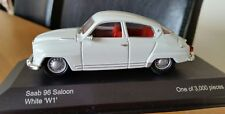 1:43 Vanguards White Saab 96 Saloon Perfect Condition Cased & Boxed Ltd Edition