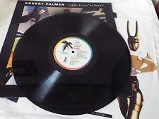 ROBERT PALMER - Addictions Volume 1 LP ALBUM VINYL 1989 with Insert A1/B1 VGC
