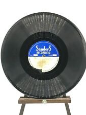 RARE TEST PRESS 78RPM - Merry Christmas One And All, Sanders Recording C.W. King