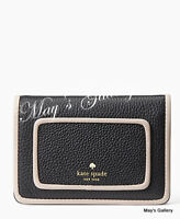 Kate Spade ID Business Wallet Credit Cards Card holder case small coin pockets
