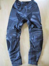 Tolle sehr robuste Motorradhose aus Leder v. Roleff für Damen mit Bundweite 40