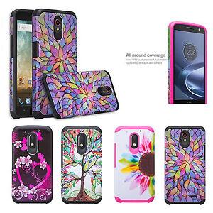 Motorola Moto G4 PLAY Case, G Play, Slim Dual Layer Shock Absorbing Case Cover