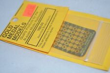 N scale PARTS Gold Medal Models assorted freight car brake wheels (90)