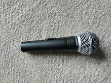 Used Shure SM58-S mic microphone