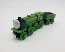 BIG CITY ENGINE & Coal Tender Thomas Tank Engine Train Wooden Railway Toy 2002