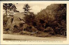 CP 88 Vosges - La Route de Belfort au Ballon d'Alsace près les Roches du Cerf
