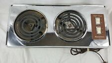 Vintage Dominion Scovill Buffet Range 1457  Hot Plate 2 Burner Made in USA 1971
