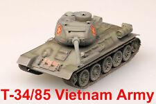 Easy Model 1/72 Vietnam Army T-34/85 Tank Plastic Model #36274