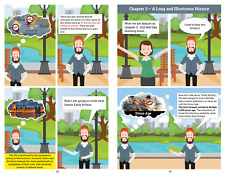 Life in the UK Test handbook 2020: COMIC STYLE FOR BASIC ENGLISH SOLD OVER 1K