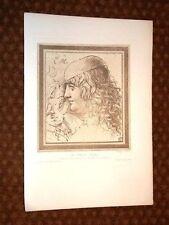 Studio di Testa Etude de Tetes - Leonardo Da Vinci