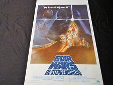 star wars LA GUERRE DES ETOILES   !  affiche cinema 1977