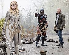 Brandon Routh Caity Lotz Dominic Purcell signed 8x10 photo autograph w/ COA