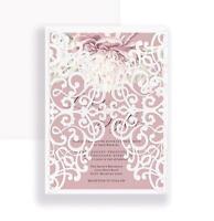 Lace Metal Cutting Dies Invitation Scrapbooking Craft Die Cut Wedding Love Dies