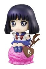 Sailor Moon 2'' Sailor Saturn Ice Cream Party Petit Chara Land Trading Figure