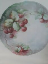 China Painting Study - Berries by Sonie Ames