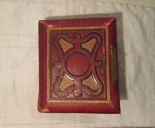 Leather Tin Type Photo Album - 1800's