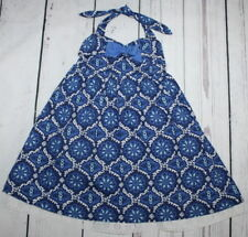 JANIE AND JACK 🌷Greek Isles Eyelet Halter Dress 🌷Baby Girl Size 18-24 Months