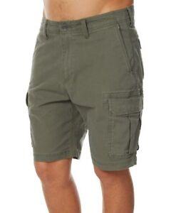 Billabong Scheme Military Stretch Cargo Walk Shorts, Size 38. NWT. RRP $79.99