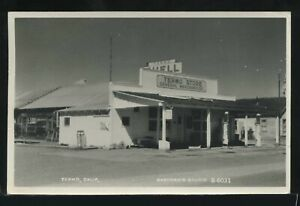 CA Termo RPPC 1955 TERMO STORE & SHELL GAS STATION by Eastman No. B-6031