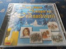 STARS SINGEN SCHLAGER ZUR WEIHNACHTSZEIT Weihnachten CD 12 Tracks NEU+foliert!!!