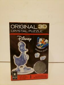 3-D Licensed Crystal Puzzle-Donald Duck, 3DCRYPUZ-31002