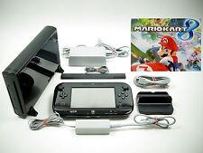 Nintendo Wii U Konsole Premium Pack 32 GB Schwarz mit Mario Kart 8 ~K7849