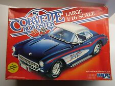 MPC 1:16 Scale Vintage '57 Corvette Roadster Model Kit New & Very Rare # 1-3085