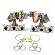 New Turbocharger Set Pair for BMW E60 535i 535XI E82 E88 135i E89 Z4 N54 3.0l