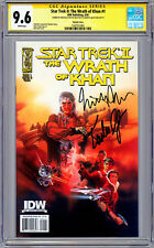 STAR TREK II THE WRATH OF KHAN #1 CGC-SS 9.6 NICHOLAS MEYER & KIRSTIE ALLEY 2009