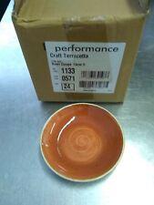 Steelite Craft  Terracotta Coupe Bowls 13.5cm -retails over 200.00