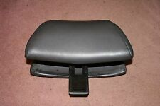 Classic Saab 900 Convertible Light Gray Leather Front Seat Head Rest