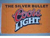 COORS LITE LIGHT BEER FLAG NEW 3X5ft banner sign better quality usa seller