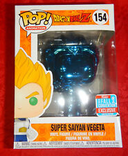 Dragon Ball Z Super Saiyan Vegeta Blue Chrome NYCC 2018 Funko Pop Vinyl Fun34209