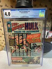 TALES TO ASTONISH #70 CGC 4.0 1st App of King Neptune..Start Of The QUEST!