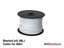 Cable para Bang & Olufsen Tvs Masterlink/BEOLINK (HQ, Blanco, por Metro)