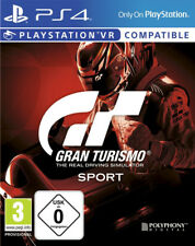 GRAN TURISMO SPORT PS4 PSVR Auto Racing GT PlayStation 4 New Package Shipping