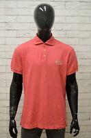 Polo Uomo BALLANTYNE Taglia XL Maglia Maglietta Camicia Shirt Man Cotone Rosso