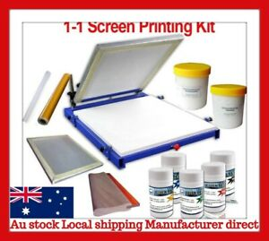 Micro Adjustable 1 One color Screen Printing Screen Press(Postage May Vary)
