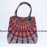 Women's Satchel Beautiful Handbag Tote Bag Handmade Shoulder Cotton Purse