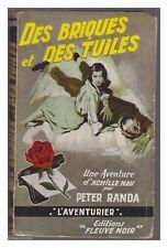 FLEUVE NOIR L'AVENTURIER  N° 16 DES BRIQUES ET DES TUILES EO 1957
