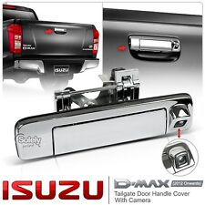 New Isuzu D-Max DMax 2012-ON Chrome Tailgate Rear Door Handle Cover W/Camera