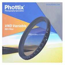 Filtro ND Variabile 77mm 2-8 Stop PHOTTIX VND per Canon Nikon Sony Pentax Tamron