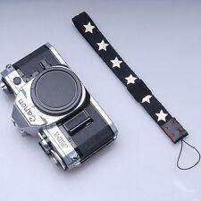 White stars Black DC Camera Hand Wrist Strap For Leica LUX5 LX3 LX5 GF1 GF2 G12