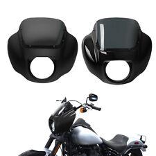 Headlight Fairing & Windshield Fit For Harley Street Bob Low Rider 2018-2021