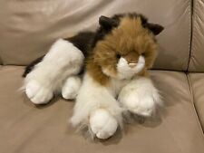 VINTAGE STUFFED PLUSH KITTY CAT CALICO Persian