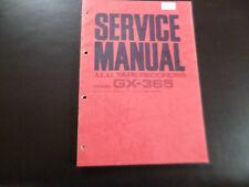 Original Service Manual Schaltplan Akai GX-365