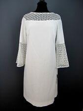 Lauren Ralph Lauren Crochet Lace-Trim Dress  $155 Size 10 # 2C 368 NEW