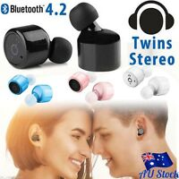 X1T Mini Twins True Wireless Earphone Stereo Bluetooth Earbud In-Ear Headset AU