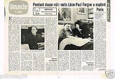 Coupure de presse Clipping 1979 (2 pages) Léon-Paul Fargue