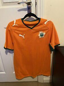 ivory coast football shirt 2008 Size XS